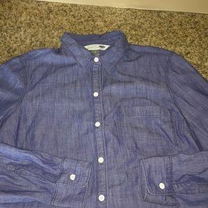 Button down top size medium